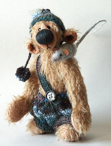 Osito Teddy con ratoncito